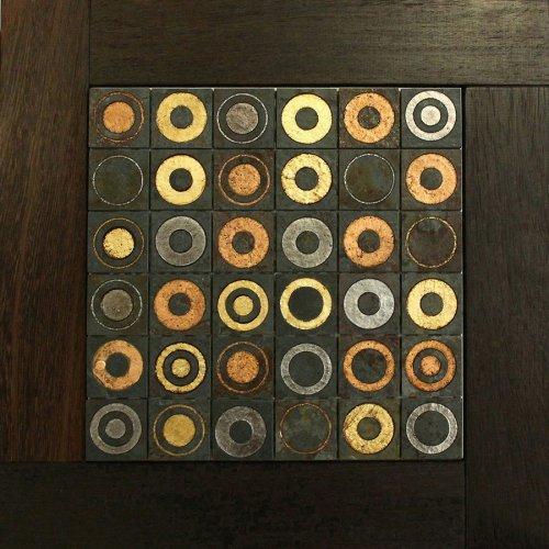 Модульный паркет Da Vinci с мозаикой 26-006-00464