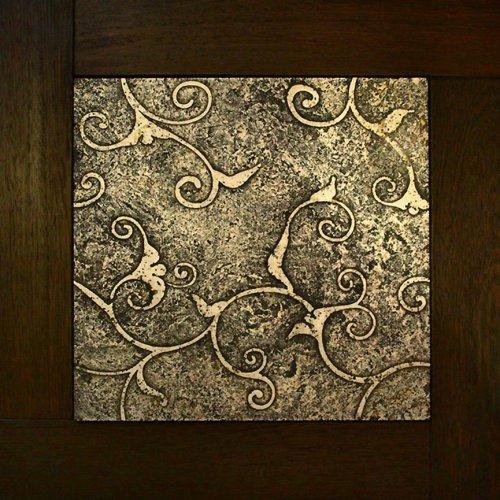 Модульный паркет Da Vinci с мозаикой 26-006-00467