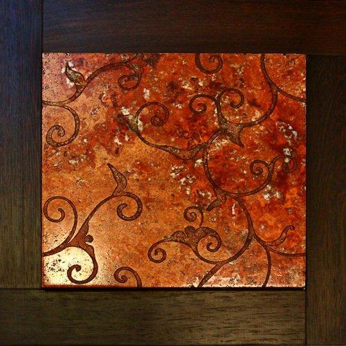 Модульный паркет Da Vinci с мозаикой 26-006-00468
