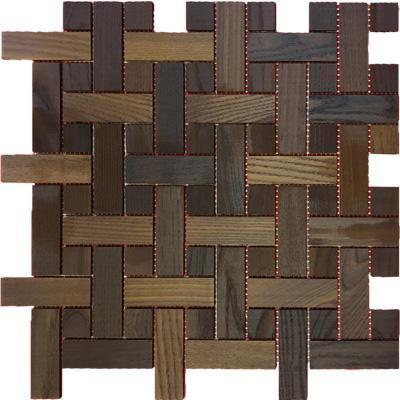 Мозаика и 3D панели из дерева Tarsi Плетенка термо 5.T.2