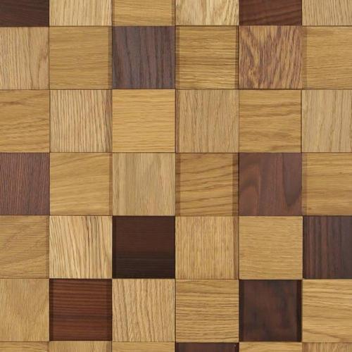 Мозаика и 3D панели из дерева Tarsi Студия Дуб/Термоясень Натур
